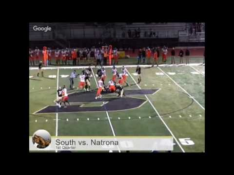 Football - Cheyenne South vs. Natrona County Mustangs