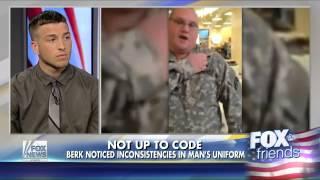 Hero veteran calls out fake soldier on video