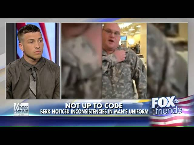 The men who impersonate military personnel for stolen glory
