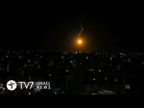 Israel bombs Gaza over terror; Turkey to confront Egypt-Greece accord - TV7 Israel News 07.08.20