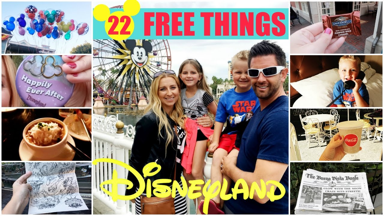 How To Get Free Stuff At Disneyland 22 Disneyland Freebies Youtube