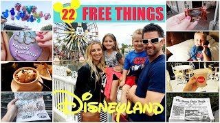 How to Get FREE Stuff at Disneyland! (22 DISNEYLAND FREEBIES!)