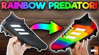 How To Make Rainbow Football Boots