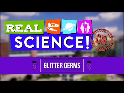 Real Science! Glitter Germs