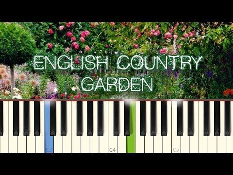 English Country Garden - English Air [Piano Tutorial] (Synthesia)