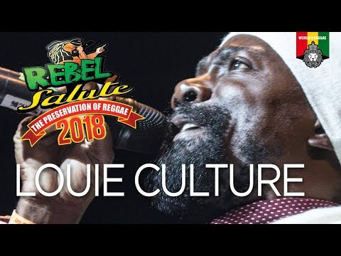 Louie Culture Live at Rebel Salute 2018