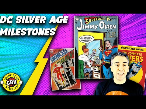 Episode 18+19.  (Full Video) Key DC Silver Age Hallmark Comic Book Issues by Alex Grand
