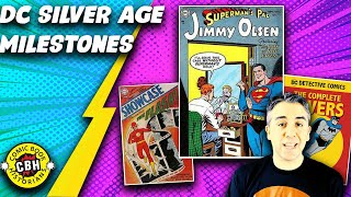 Ep. 18+19.  (Full Video) The Key DC Silver Age Milestone Comic Book Issues by Alex Grand