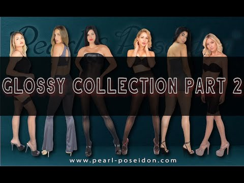 Pearl & Poseidon's Glossy Nylon Pantyhose Collection Part 2