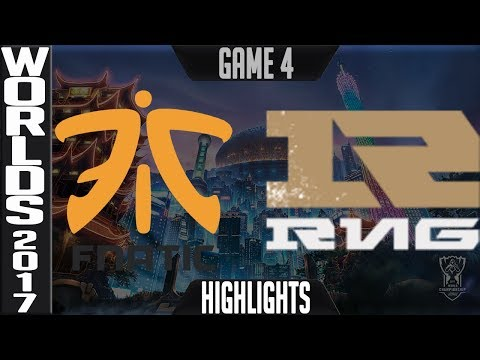 FNC vs RNG Highlights Game 4 - Quarterfinal World Championship 2017 Fnatic vs Royal Never Give Up