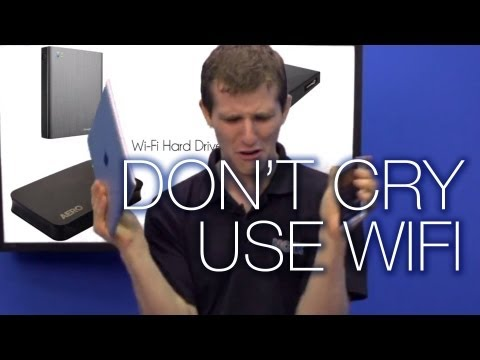 WiFi Drives Expand Your Phone/Tablet Storage Wirelessly