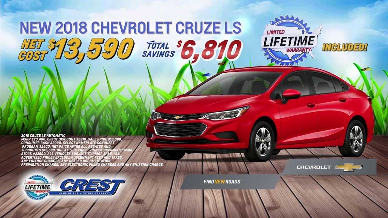 Spring Sales Event | Crest Chevrolet San Bernardino, CA