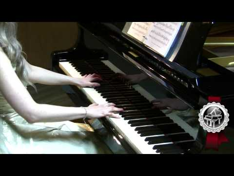 "BACH  ""Air in D major""  Piano Version (BWV 1068 )"