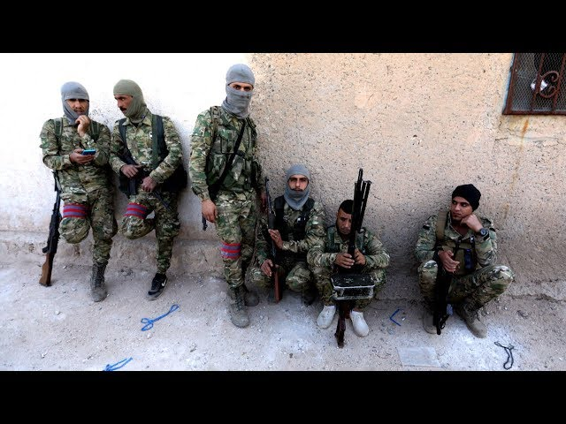 Kurdish forces bring in Syrian troops to fight Turkey