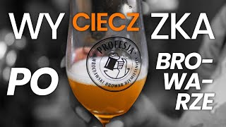 Jak powstaje piwo? Wycieczka po browarze Profesja we Wrocławiu | Blogodynka