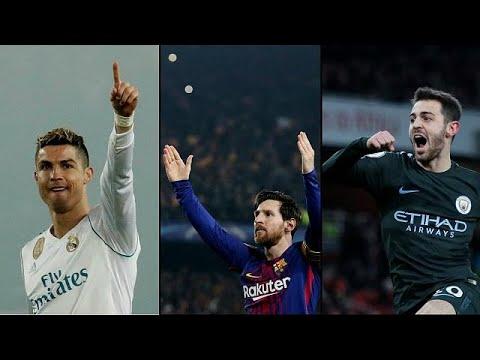 Liga dos Campeões: Ronaldo em Turim, Messi em Roma e Bernardo em Liverpool
