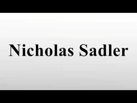 Nicholas Sadler