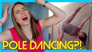 POLE DANCING WHILE PREGNANT