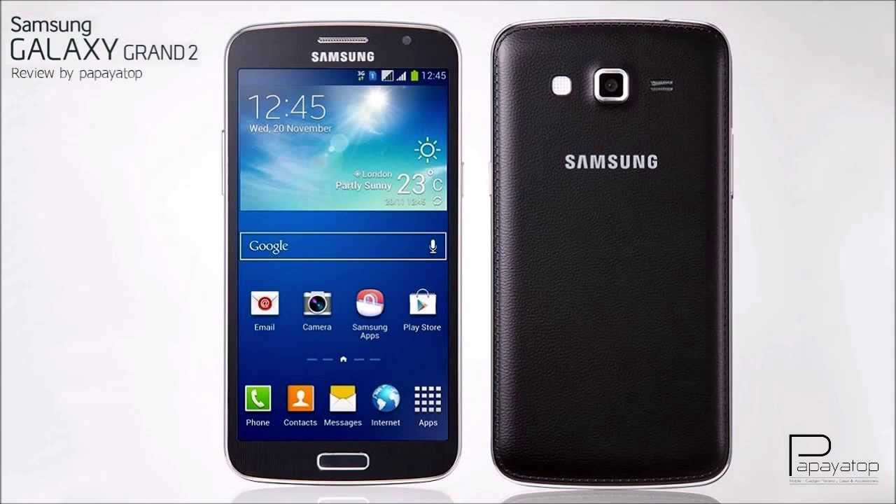 review samsung galaxy grand 2 th   youtube