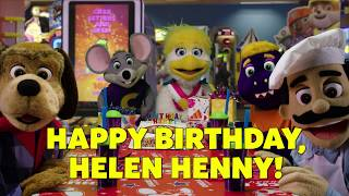 Happy Birthday, Helen Henny! | Chuck E. Cheese Birthday Song for Kids