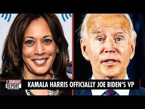 Kamala Harris Officially Joe Biden's VP Kamala Harris is officially Joe Biden's VP. John Iadarola and Jayar Jackson break it down on The Damage Report., From YouTubeVideos