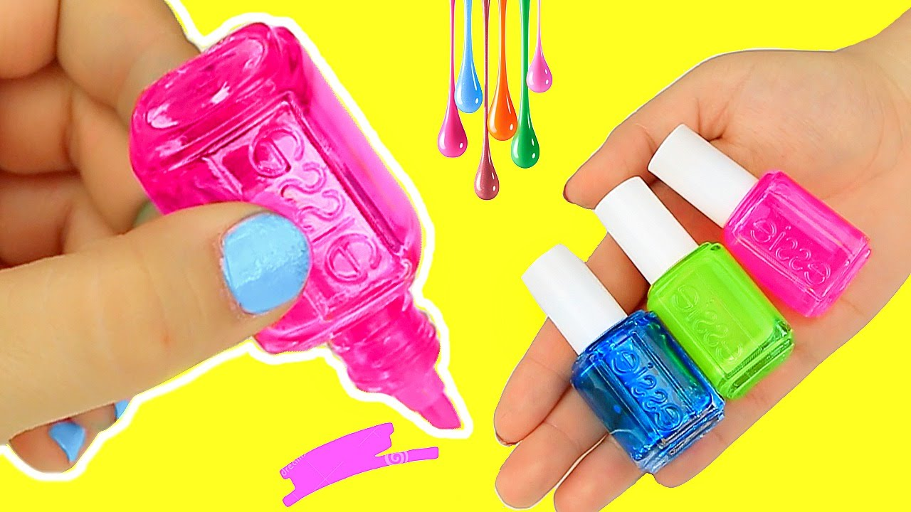 Diy nail polish highlighters youtube for Diy shoes with nail polish