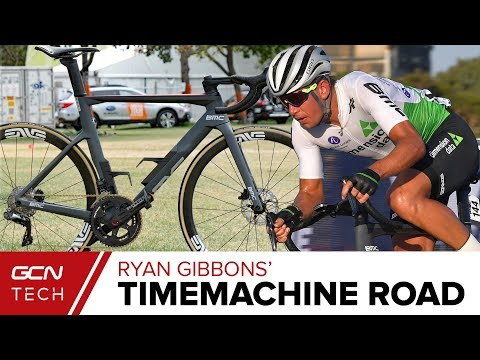 Dimension Data's BMC Timemachine Road 01 | Ryan Gibbons' Pro Bike
