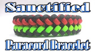 Paracord How To Make The Sanctified Bracelet By Terry Grossmann Tutorial By MrCoop