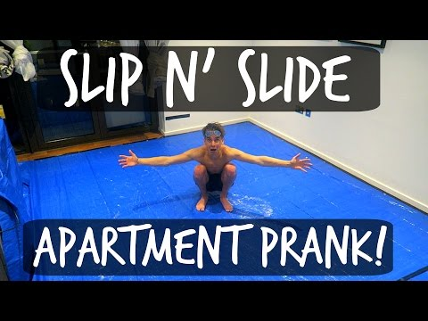 SLIP 'N' SLIDE APARTMENT PRANK!