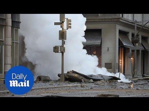 Manhattan Steam Pipe Explosion Causes Rush Hour Chaos
