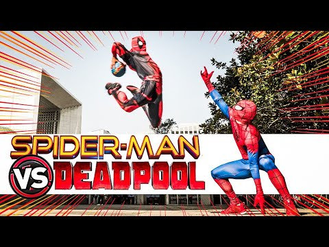 SPIDERMAN VS DEADPOOL / FOOTBALL VS BASKETBALL ft BRISCO