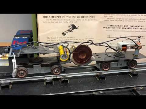 Project Update: Diesel roar and horn repair, 21916 2-unit Northern Pacific PA set (492) 1957