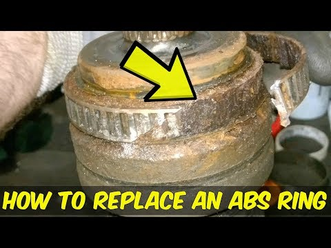 ABS Reluctor Ring Replacement - How To - BMW 3 Series