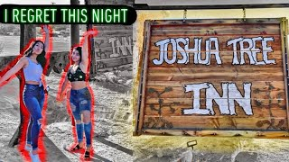 Random GUY tried Breaking in!! Exploring haunted motel at joshua tree