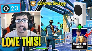 FaZe Sway DOMINATES Bugha Late Game Arena With NEW CONSOLE!