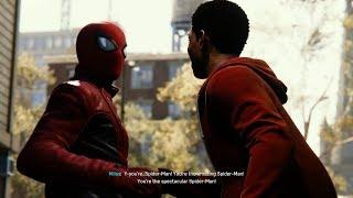 Spider-Man Meets Miles Morales (Last Stand Suit Walkthrough) - Marvel