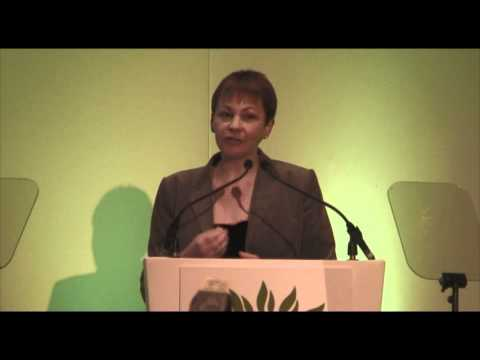 Caroline Lucas Green Party conference Cardiff pt1