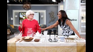 Prepare for your next dinner party with these tableware tips streaming