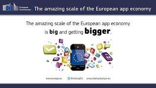 The amazing scale of the European app economy