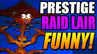 FUNNY PRESTIGE EOW RAID LAIR! Worlds First Attempt! Part 1