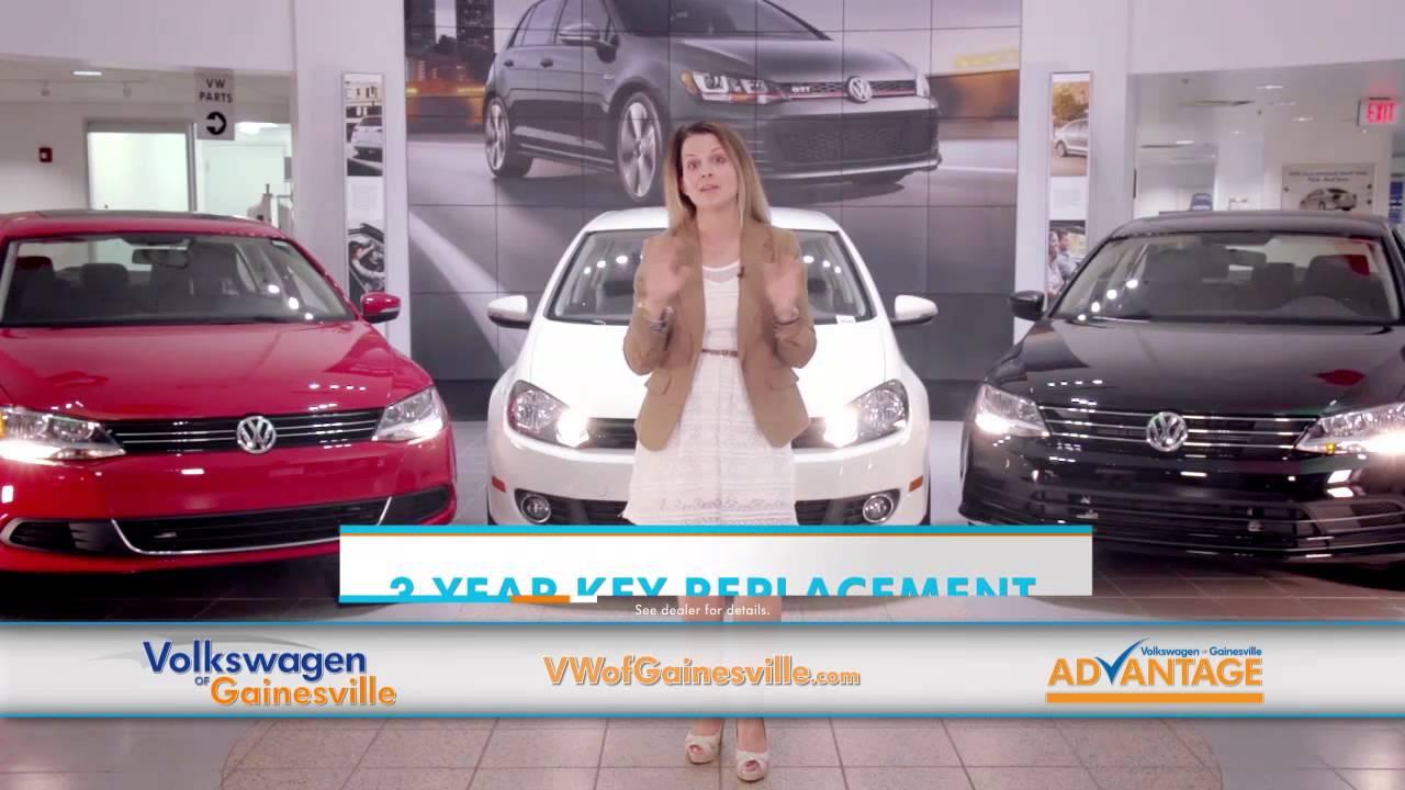 The Volkswagen of Gainesville Advantage - YouTube