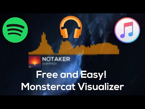 Monstercat Live Visualizer (Free and Easy w/Spotify Support!) (v2)