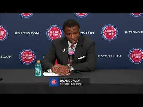 Pistons LIVE 12.23.18: Dwane Casey