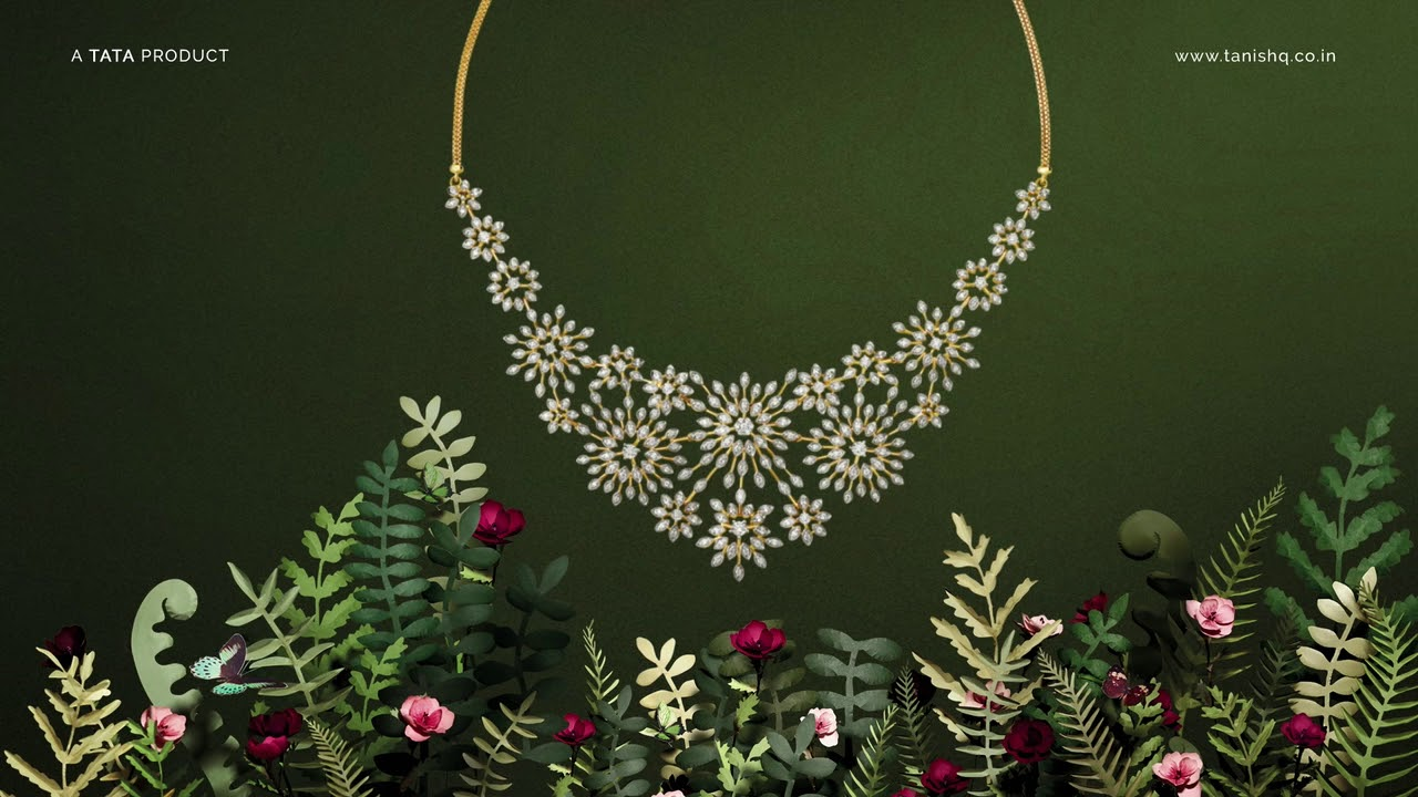 Gulnaaz By Tanishq - Inspired By Flowers