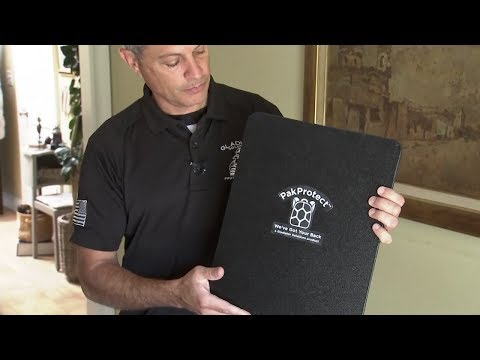 Dad creates bulletproof backpack insert to keep kids safe in school shootings