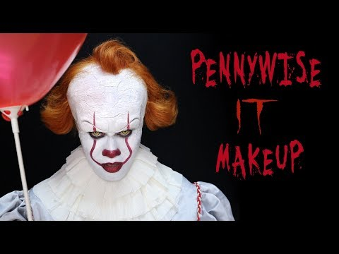 Pennywise Makeup Tutorial - IT Movie (Improved!)