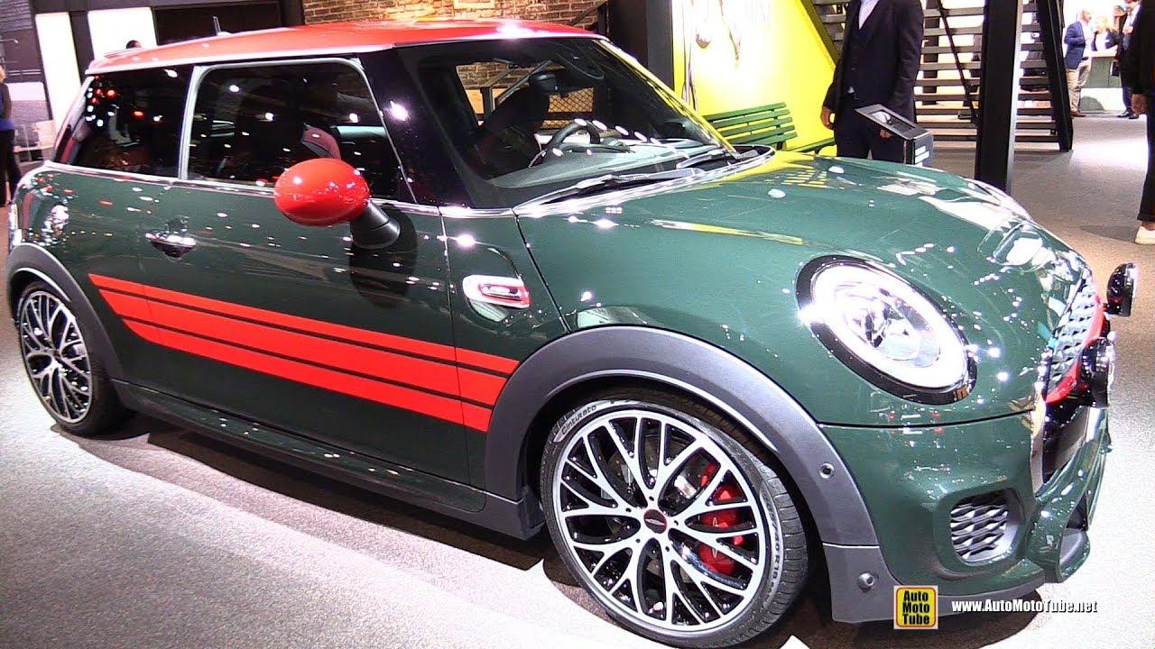 2018 Mini John Cooper Works Exterior And Interior Walkaround 2017 Frankfurt Auto Show