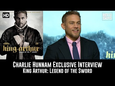 Charlie Hunnam Exclusive Interview - King Arthur: Legend of the Sword