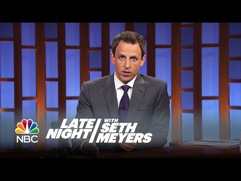 Seth Meyers Offers Robin Williams An Unscripted Tribute