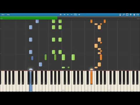 Club Penguin OST- Pizzatron 3000 Theme/ Piano Tutorial